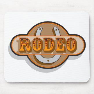 ロデオの蹄鉄 マウスパッド