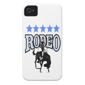 """""""ロデオ""""の西部ブラックベリーの箱 Case-Mate iPhone 4 ケース"""
