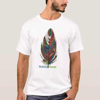ロドニーPyeatt -幸運の羽のTシャツ Tシャツ