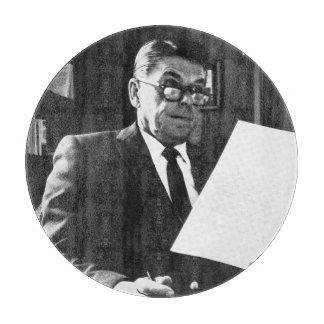 ロナルド・レーガンの写真 カッティングボード