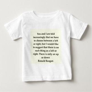 ロナルド・レーガンの引用文 ベビーTシャツ