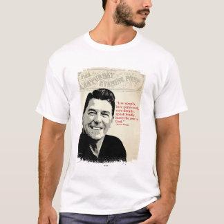 ロナルド・レーガンの引用文 Tシャツ