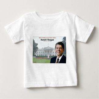 ロナルド・レーガンの漫画 ベビーTシャツ
