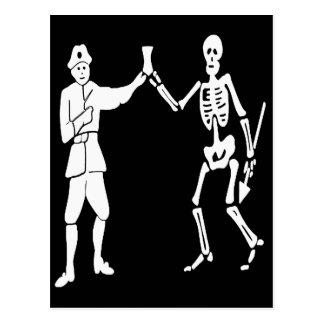 ロバーツの海賊旗 ポストカード