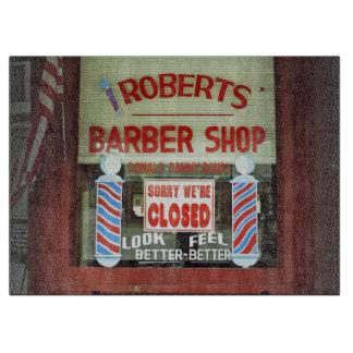 ロバーツの理髪店 カッティングボード