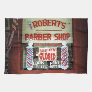 ロバーツの理髪店 キッチンタオル