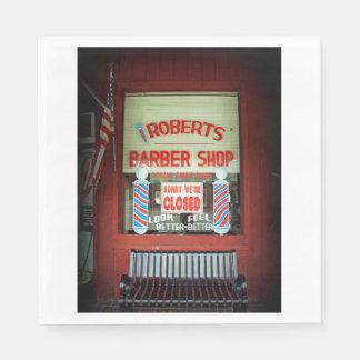 ロバーツの理髪店 スタンダードランチョンナプキン