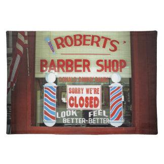ロバーツの理髪店 ランチョンマット