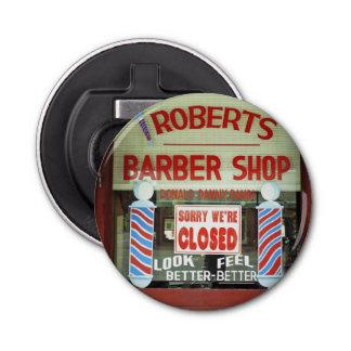 ロバーツの理髪店 栓抜き