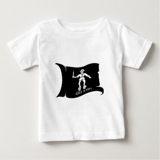 ロバーツ1振る旗#14のバート ベビーTシャツ