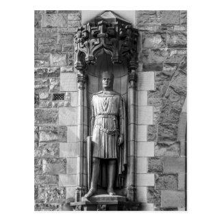 ロバートの彫像エジンバラの城のブルース ポストカード