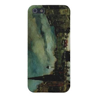 ロバートアンリーのヴィンテージのニューヨークのファインアートのiPadの場合 iPhone 5 Cover