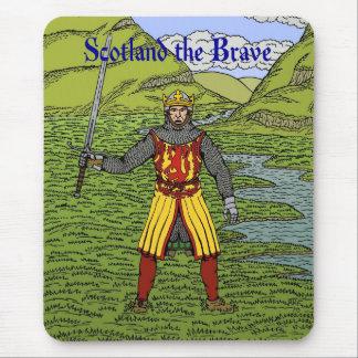 ロバートブルーススコットランド勇敢の マウスパッド