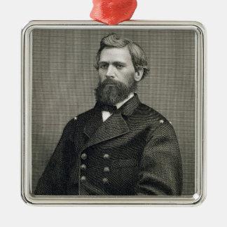 ロバート著刻まれるオリバーのオーティスハワード(1830-1909年) メタルオーナメント