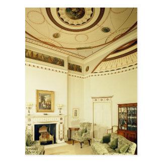 ロバート・アダムが設計しているEtruscan部屋 ポストカード