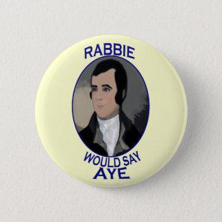 ロバート・バーンズのスコットランドの独立ボタンのバッジ 缶バッジ