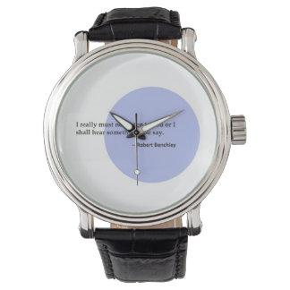 ロバートBenchley # 1 腕時計
