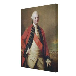 ロバートCliveの第1男爵のClive 1773年ポートレート キャンバスプリント
