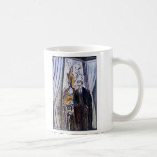 ロバートDelaunay著フィリップSoupault詩人 コーヒーマグカップ