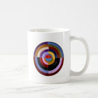 ロバートDelaunay著首位のDisque コーヒーマグカップ