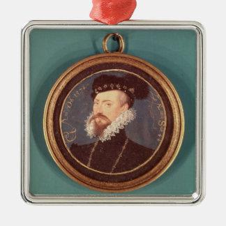 ロバートDudleyのレスター(c.1532-88)の伯爵1576年 メタルオーナメント