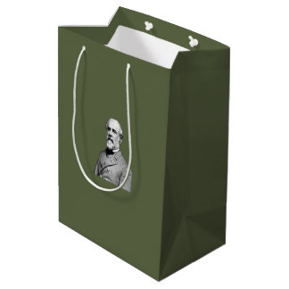 ロバートE.リーUSA Army大将の緑 ミディアムペーパーバッグ