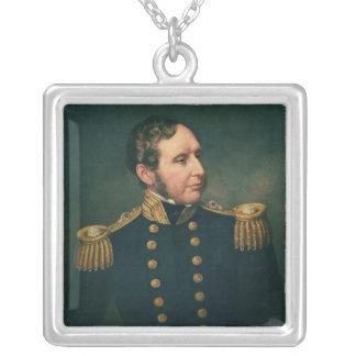 ロバートFitzroy海軍中将 シルバープレートネックレス