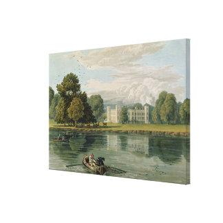 ロバートHavell (1769-1832年)が刻むSionの家 キャンバスプリント