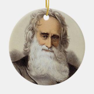 ロバートMoffat (1795-1883年)のポートレート(色のlith セラミックオーナメント