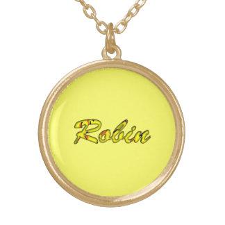 ロビンのネックレス ゴールドプレートネックレス
