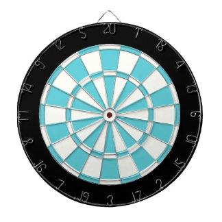 ロビンの卵の青い白黒 ダーツボード