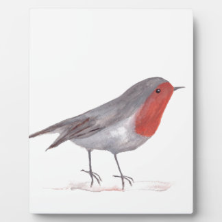 ロビンの鳥 フォトプラーク