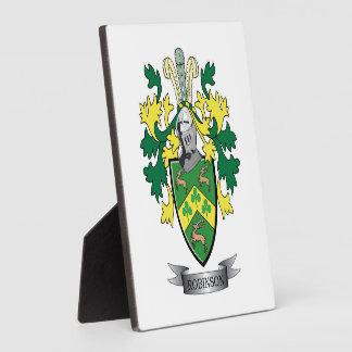 ロビンソンの紋章付き外衣 フォトプラーク
