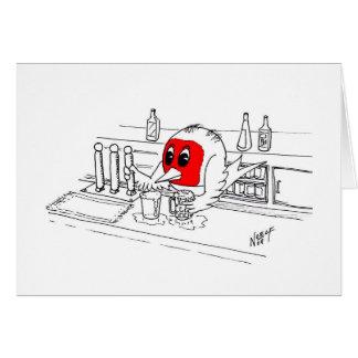 ロビンバーテンダー カード