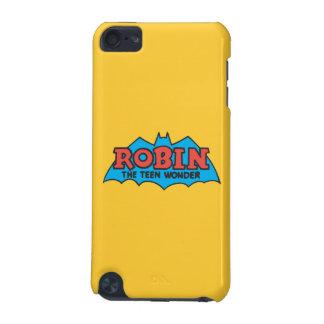ロビン10代のな驚異のロゴ iPod TOUCH 5G ケース