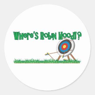 ロビン・フッドがいるところ ラウンドシール