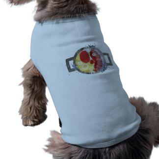 ロブスターのビーチ犬のTシャツ ペット服
