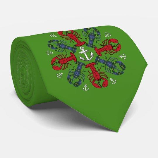 ロブスターの雪片のいかりN.S.Christmasの醜いタイ ネックウェアー