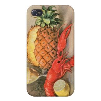 ロブスターの静物画 iPhone 4/4S COVER