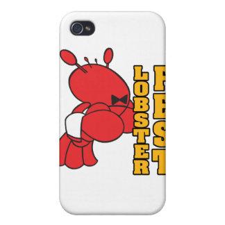 ロブスターのfestのロブスターのfestのロブスターのウェイター iPhone 4 case