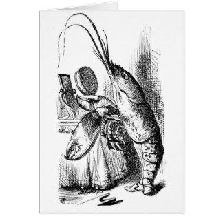 ロブスターのQuadrille カード