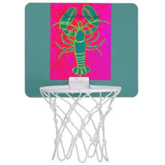 ロブスターのThunder_Coveの緑のピンク ミニバスケットボールゴール