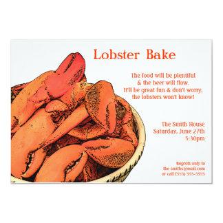 ロブスターは招待状を焼きますか、または楽しみます カード