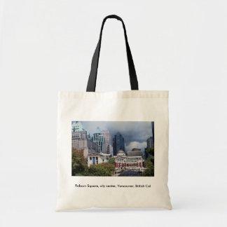 ロブソンは、市民会館、バンクーバーのイギリスのCol平方します トートバッグ