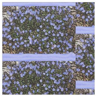 ロベリアの綿プリント ファブリック