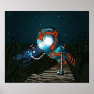 ロボットおよび蝶 ポスター