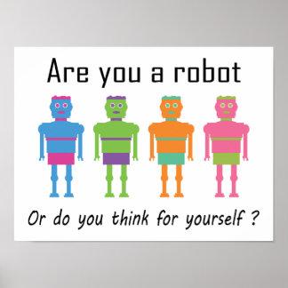 ロボットですか。 ポスター