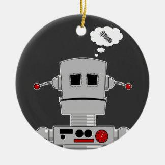 ロボットねじオーナメント セラミックオーナメント