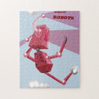 ロボットの世界 ジグソーパズル