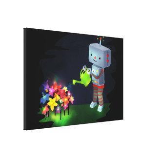 ロボットの庭 キャンバスプリント